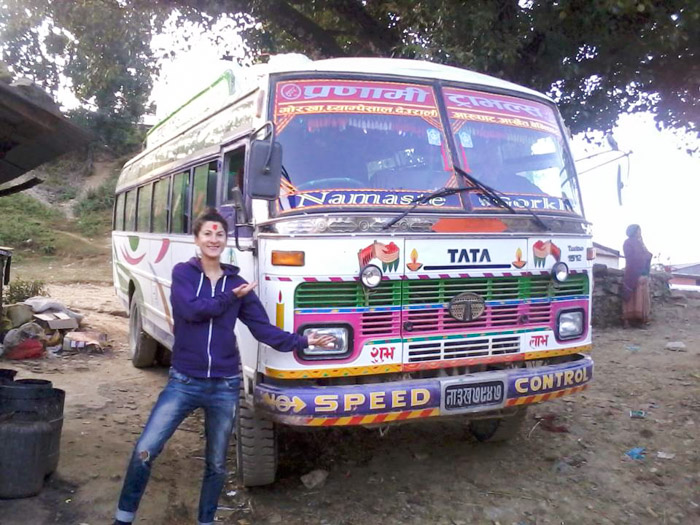Local Bus in Nepal