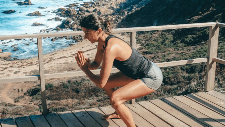 Full body beach workout