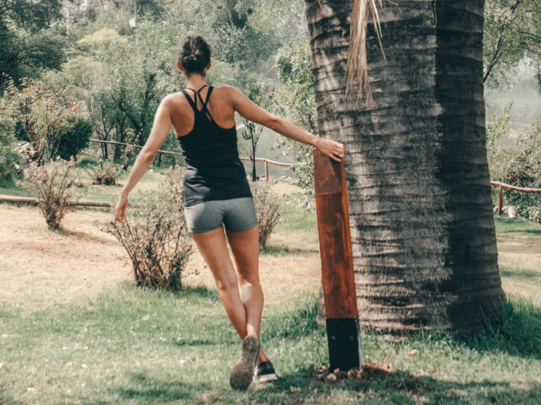Woman Workingout Legs, Leg Power Circuit