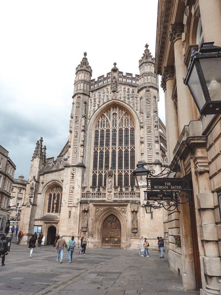 Bath cathedral England