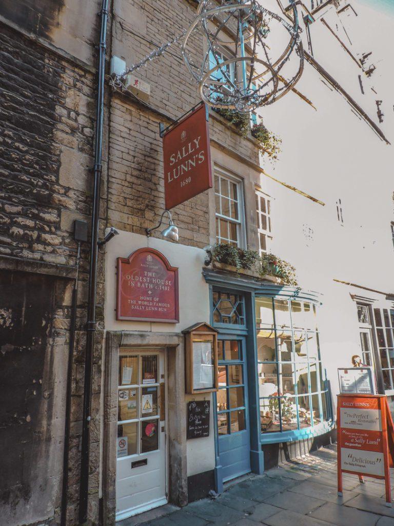 Sally Lunn's Bath- the oldest cafe in Bath