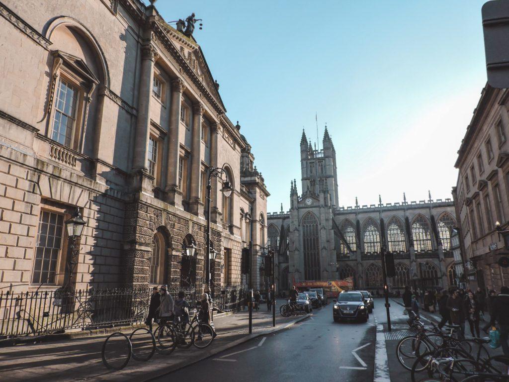 Bath city centre England