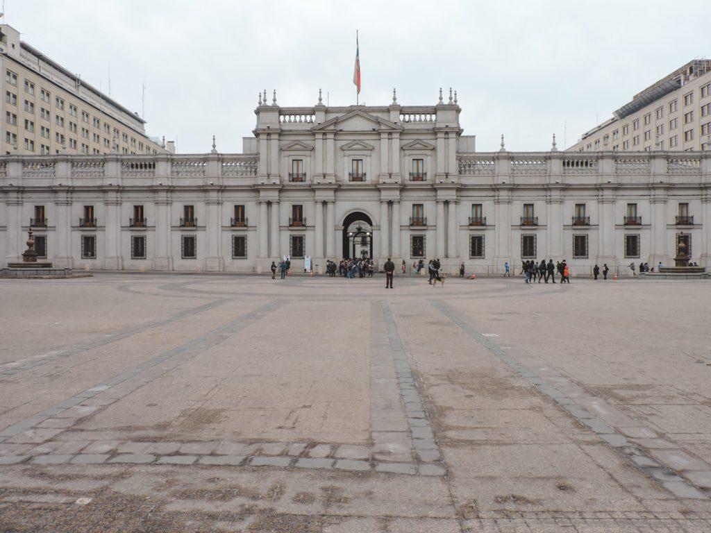 La Moneda Palace, Santiago Chile