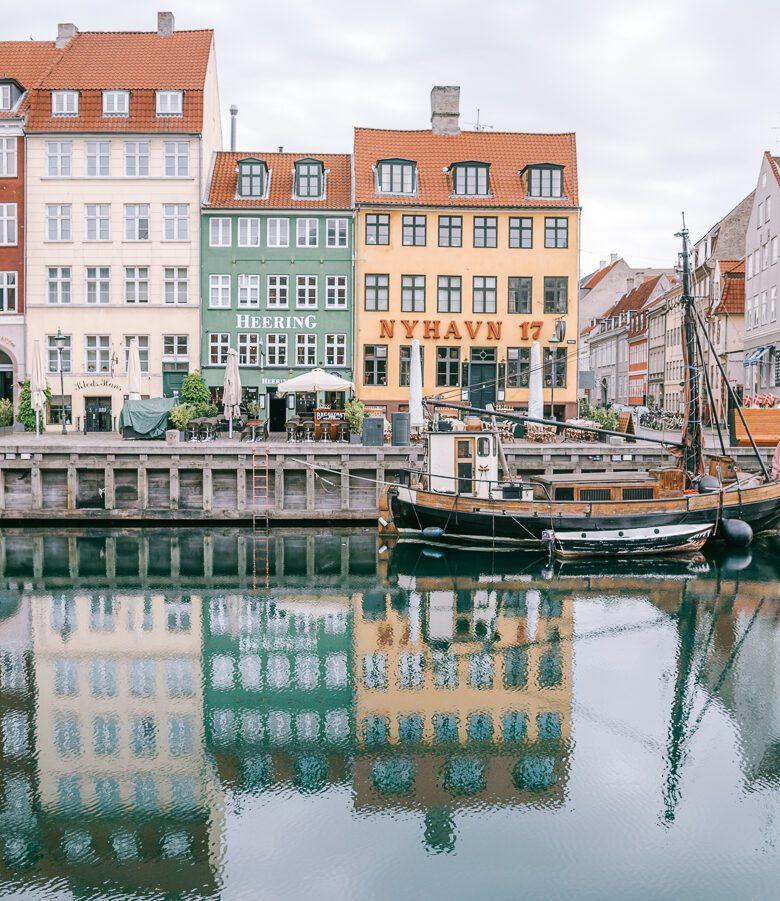 nyhaven copenhagen canal view