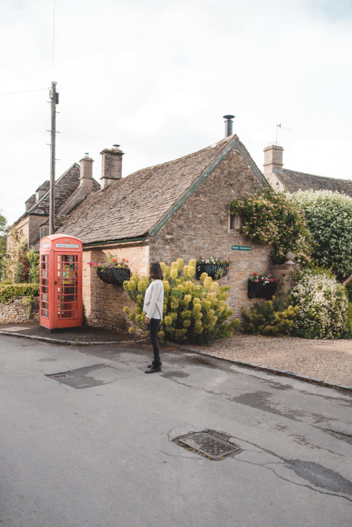Upper Slaughter Cotswold itinerary