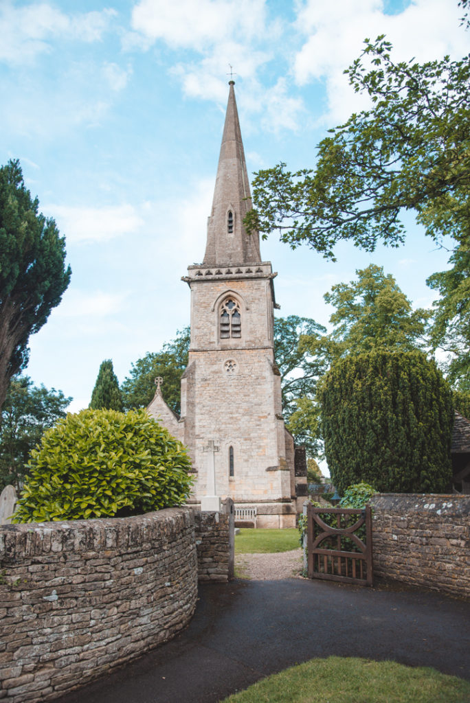 Tiny chapel in Lower Slaughter England