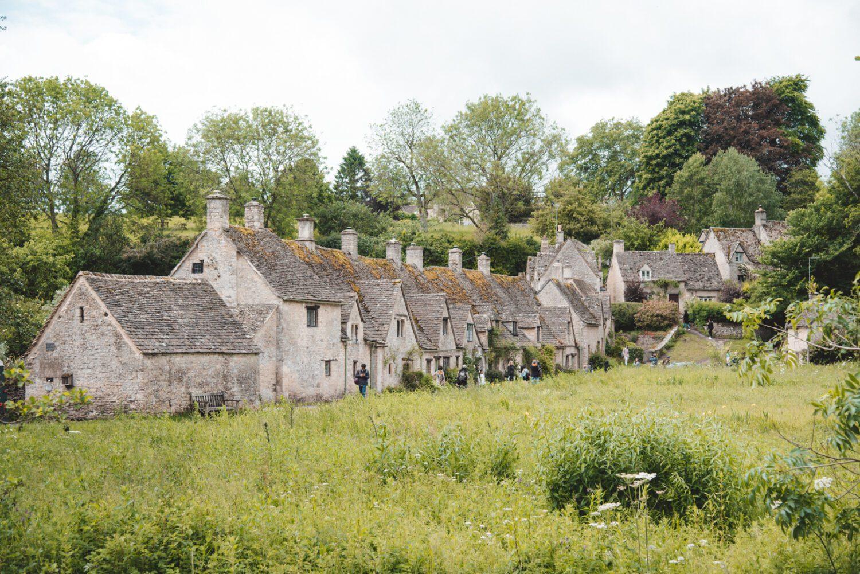 Bibury village row