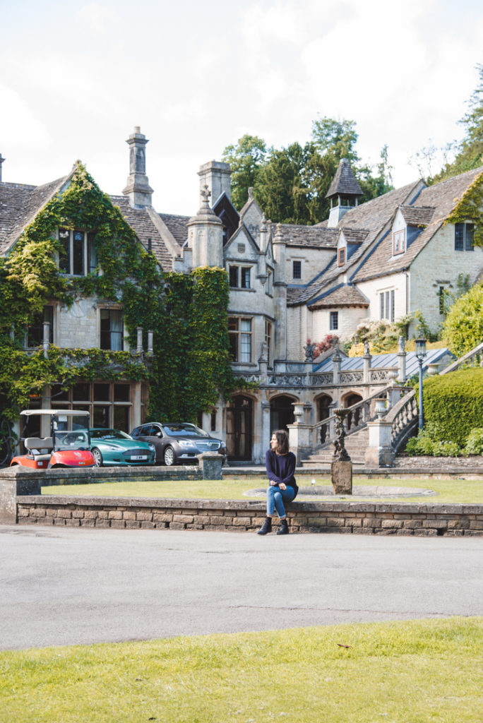 Manor House in Castle Combe Cotswold itinerary