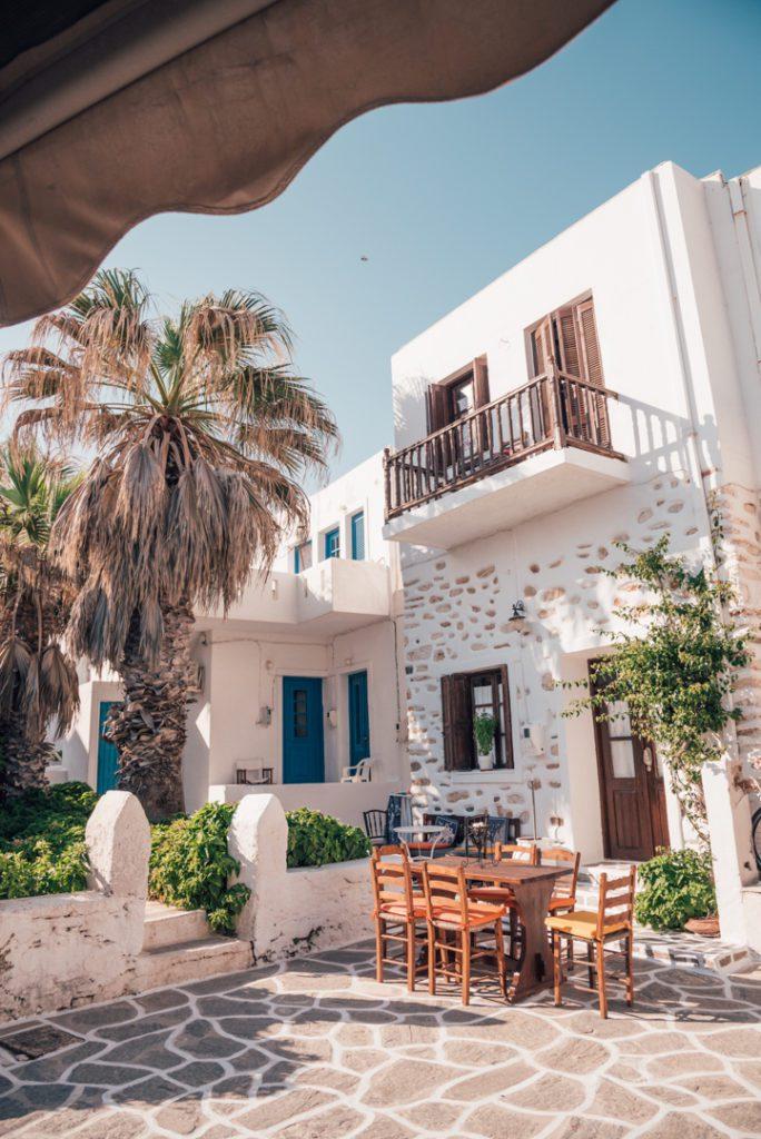 Streets of Naousa, Paros