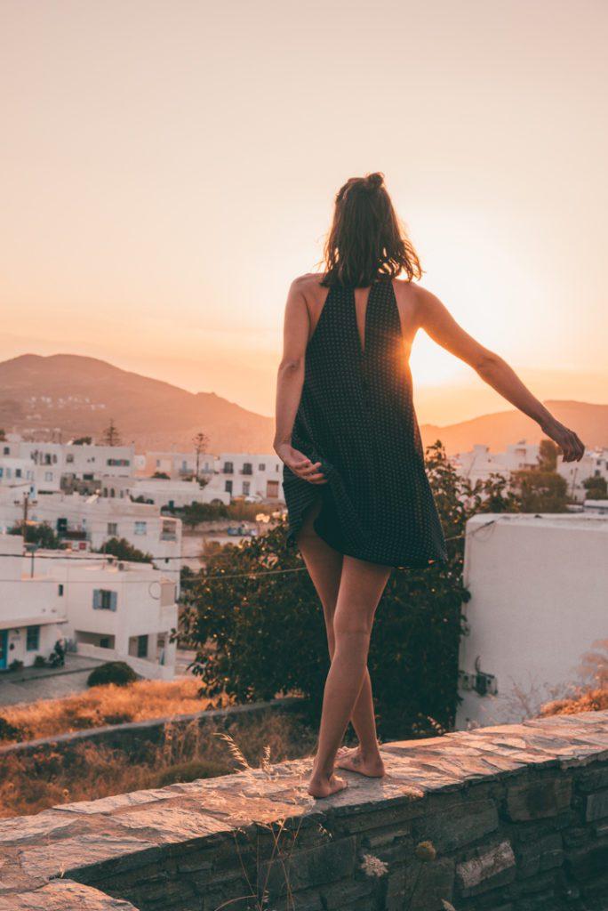 Sunset in Paros, Greece