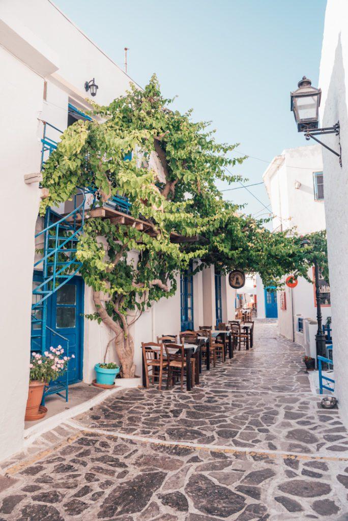 Street of Plaka Milos