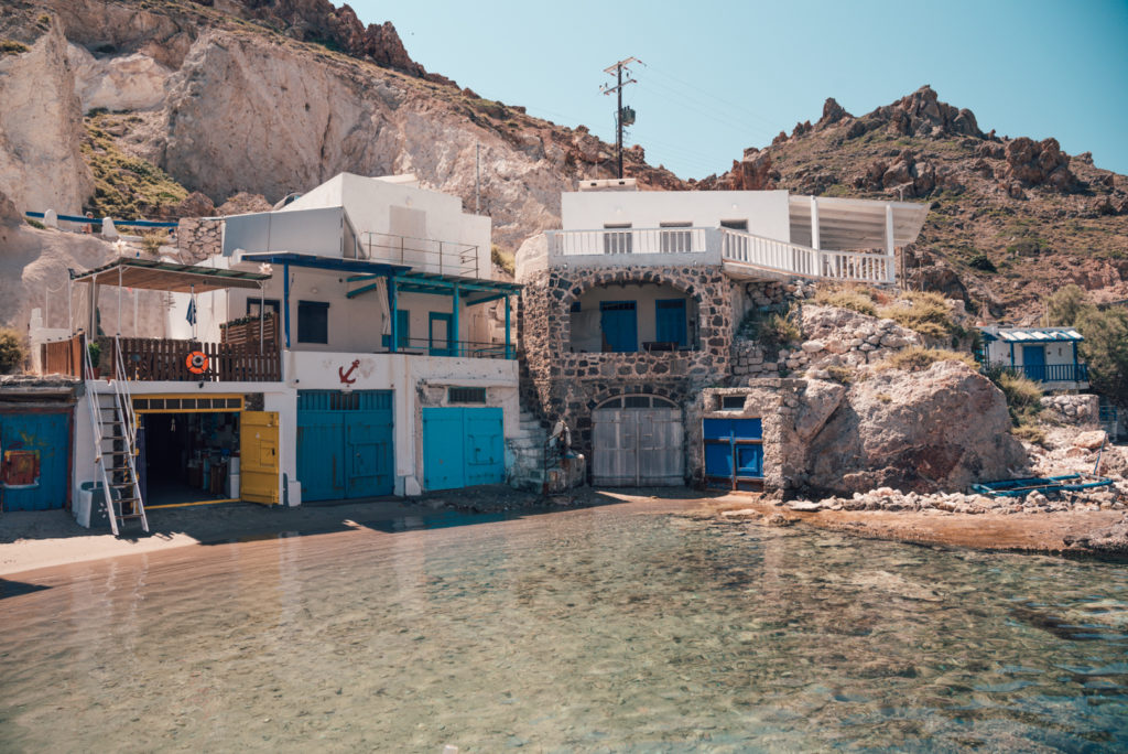 Things to do and see in Milos