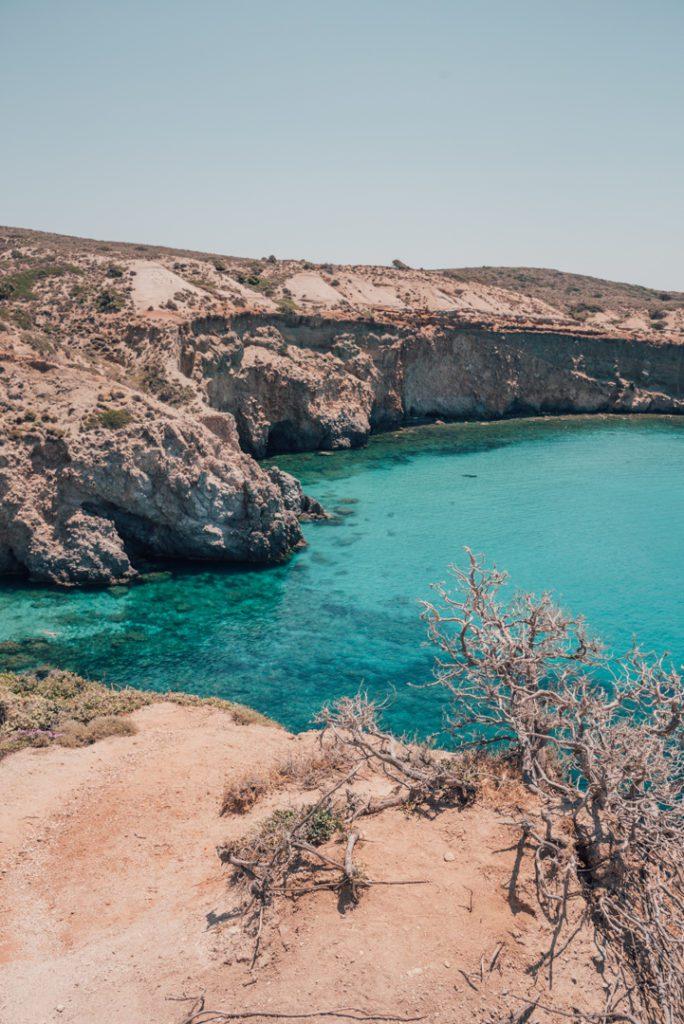 Tsigrado Beach, Milos Greece