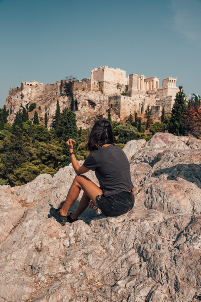 Areopagus Hill Athens Greece