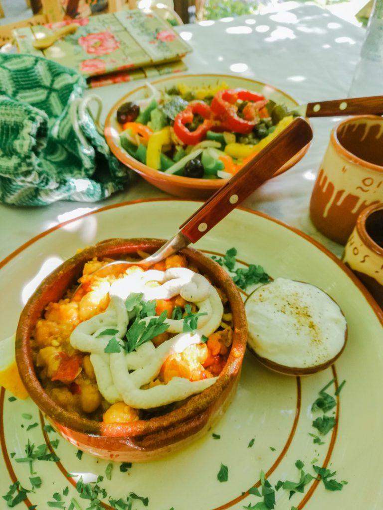 Greek food n Milos