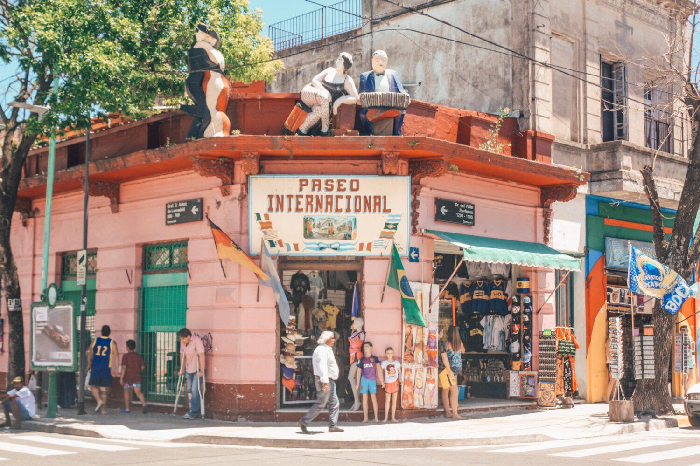 La Boca corner, Buenos Aires