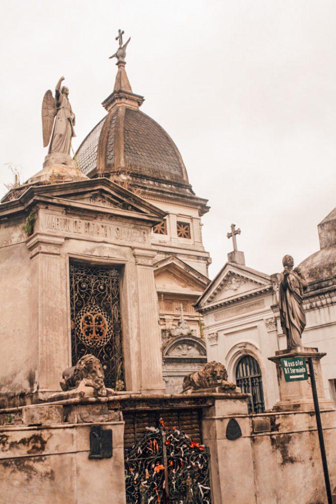 Mausoleum Recoleta Cemetery Buenos Aires