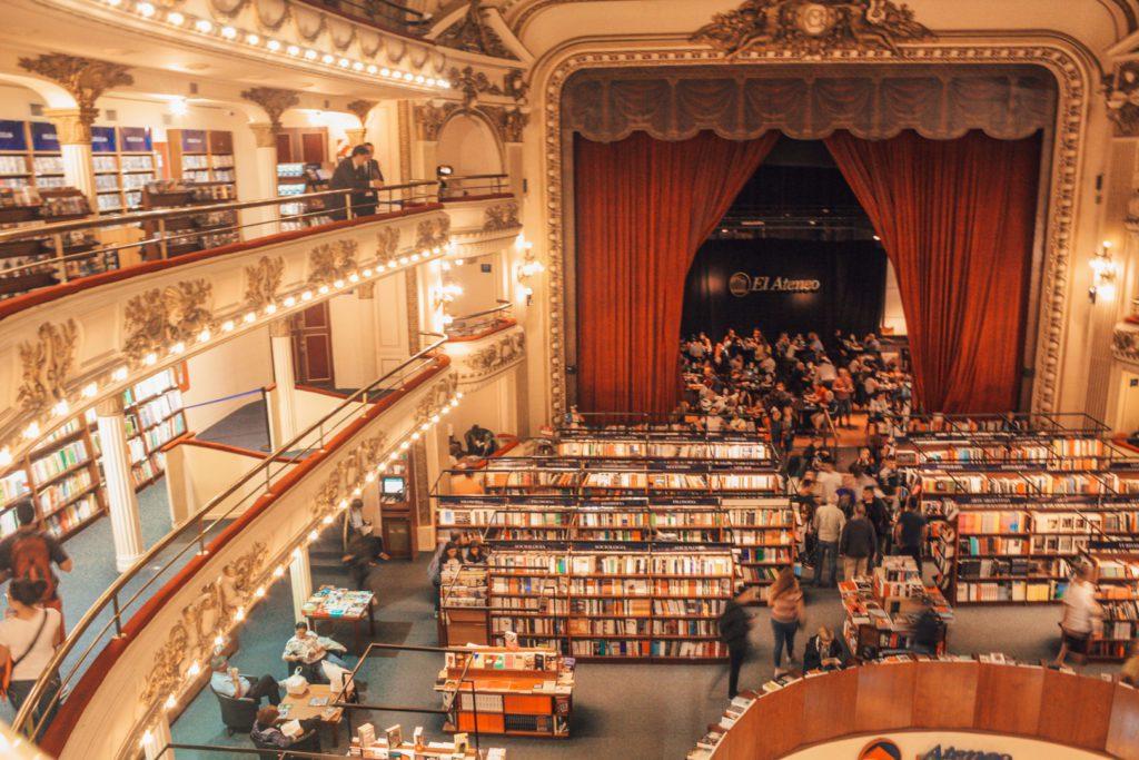 El Ateneo Bookstore Buenos Aires