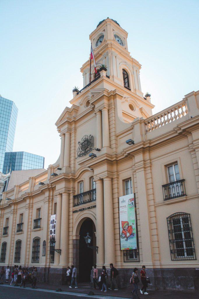 The History Museum in Plaza de Armas, Santiago Chile