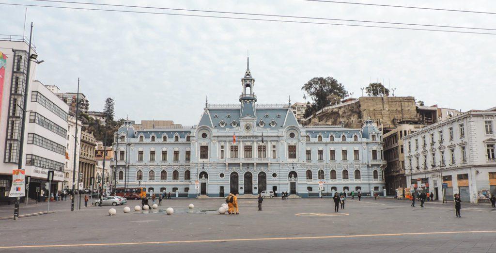 Plaza Sotomayor Valparaiso