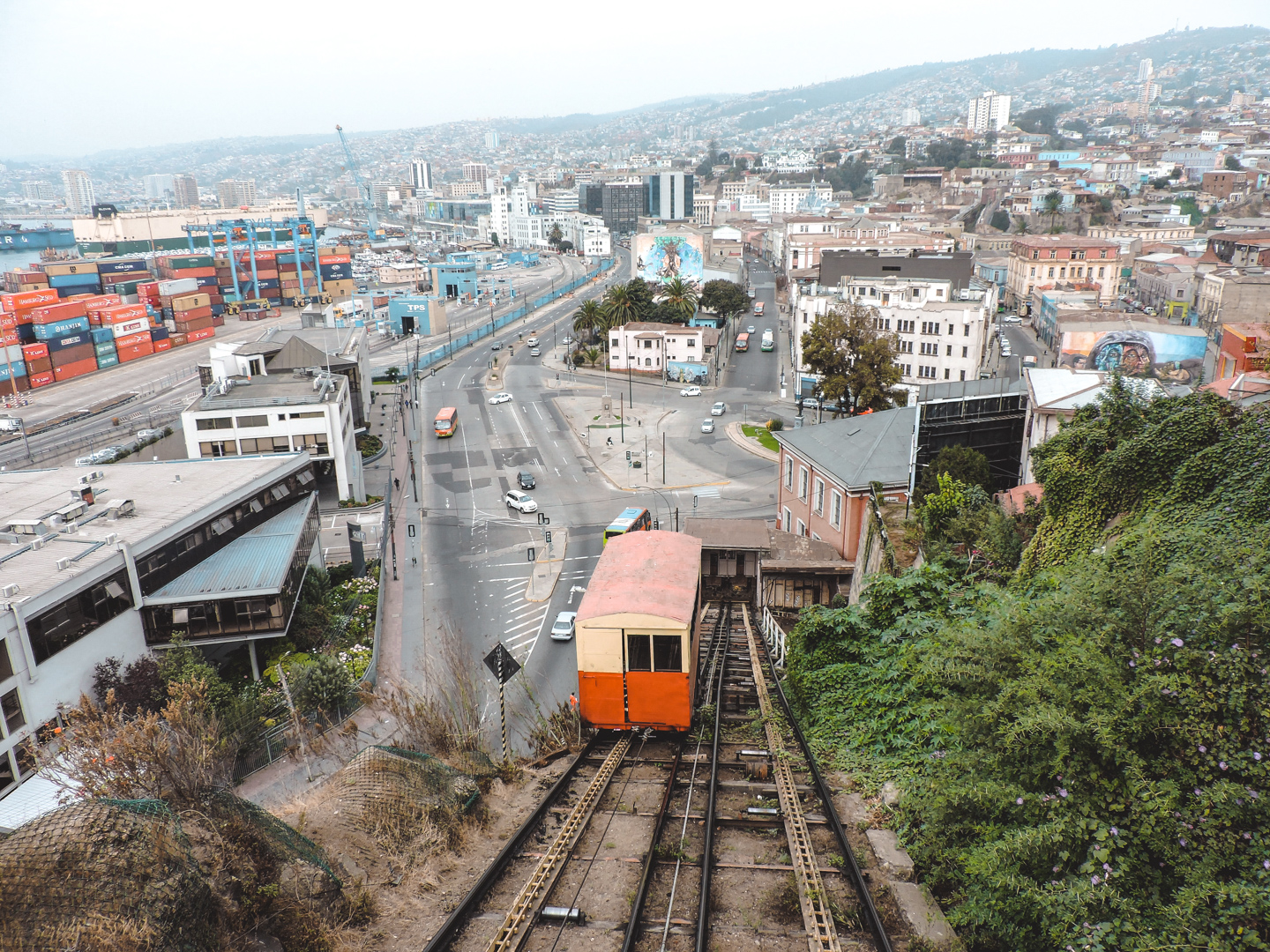 Ascensor in Valparaiso