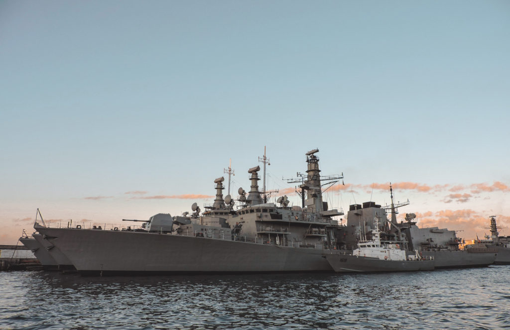 Valparaiso war ship