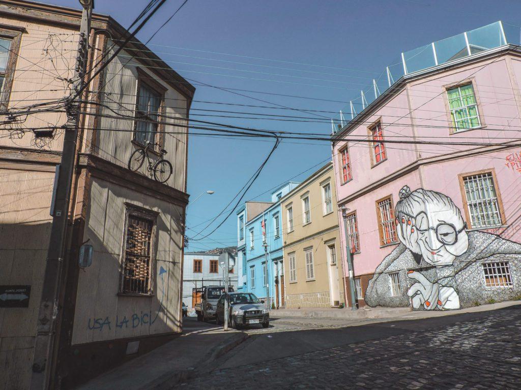 Street in Valparaiso