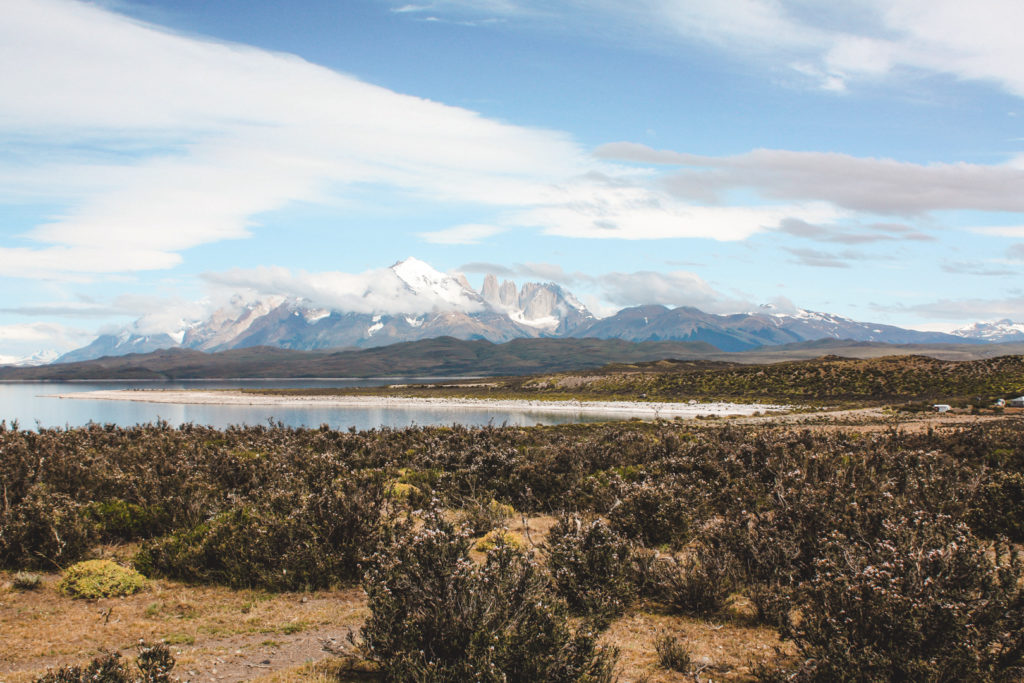 View of Torres del Paine National Park
