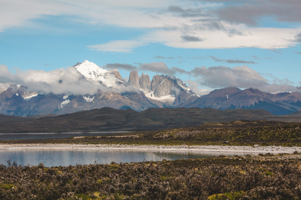 Torres del Paine views.