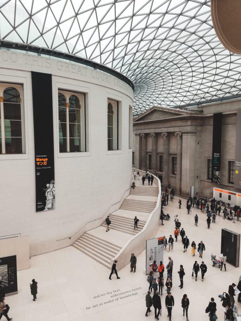 British Museum great hall london