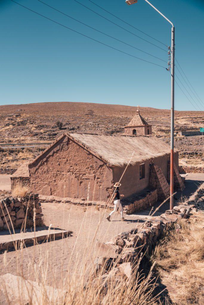 Village in Atacama Desert