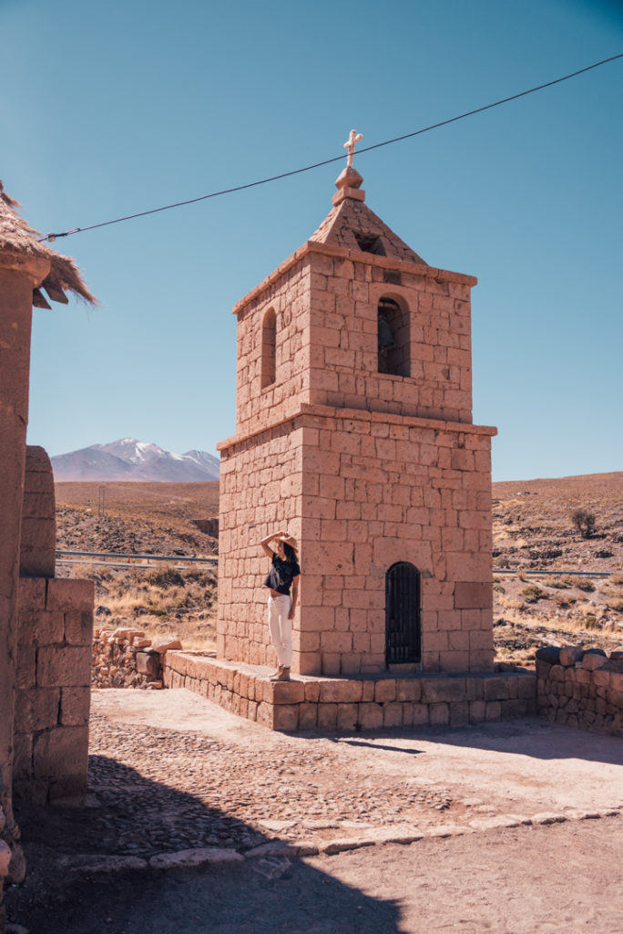 Church in the Atacama Desert