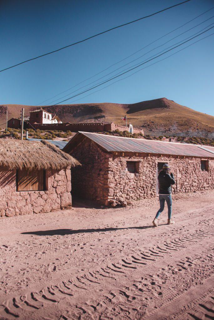 Indigenous village in the Atacama Desert