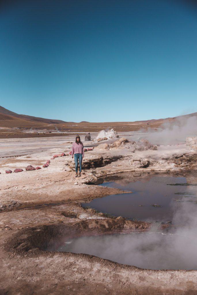 tatio geysers in Atacama Chile