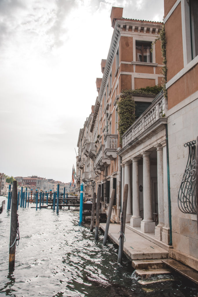 Grand Canal building Venice
