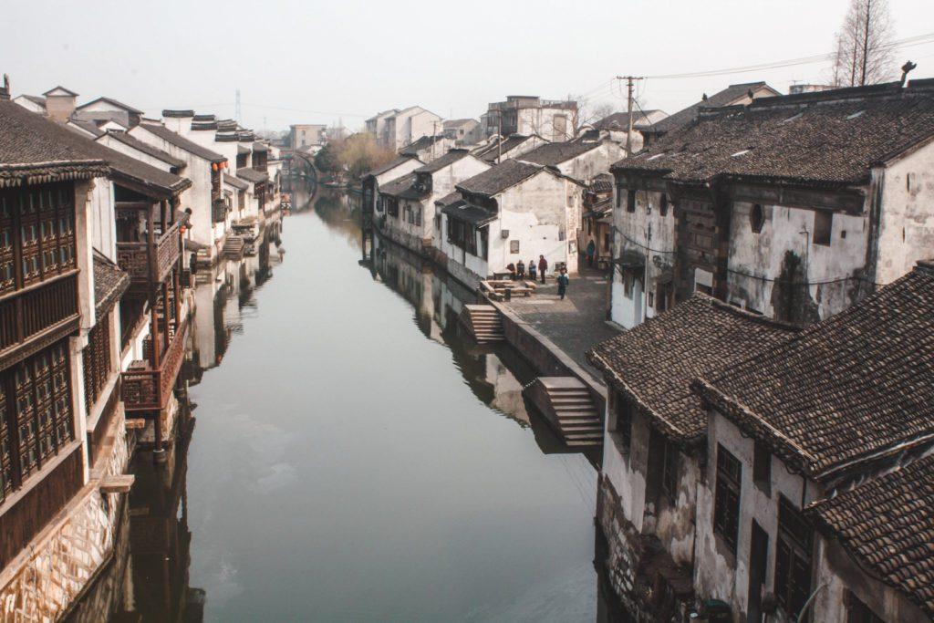 Water towns near Shanghai