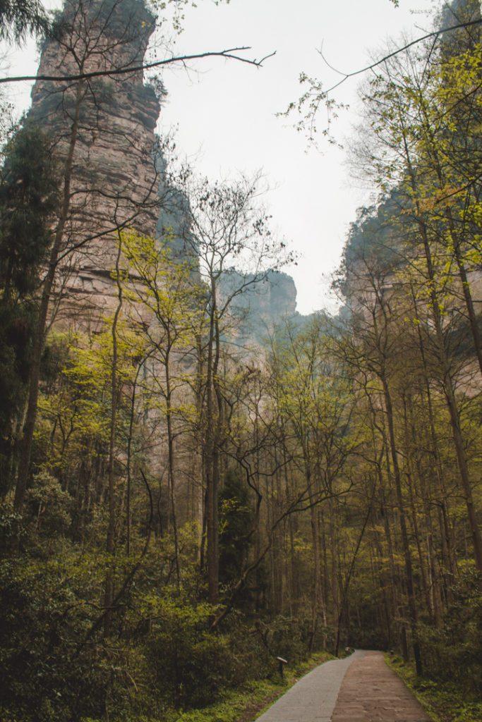 Zhangjiajie China lesser places to visit in china