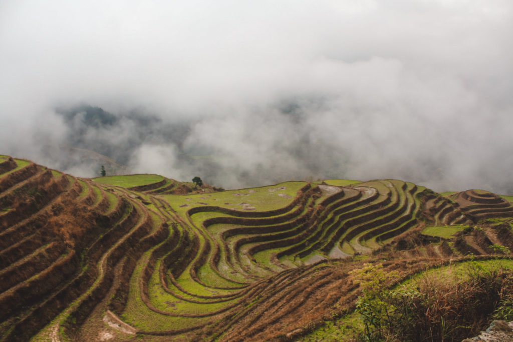 lesser known places to visit in China- longji terraces