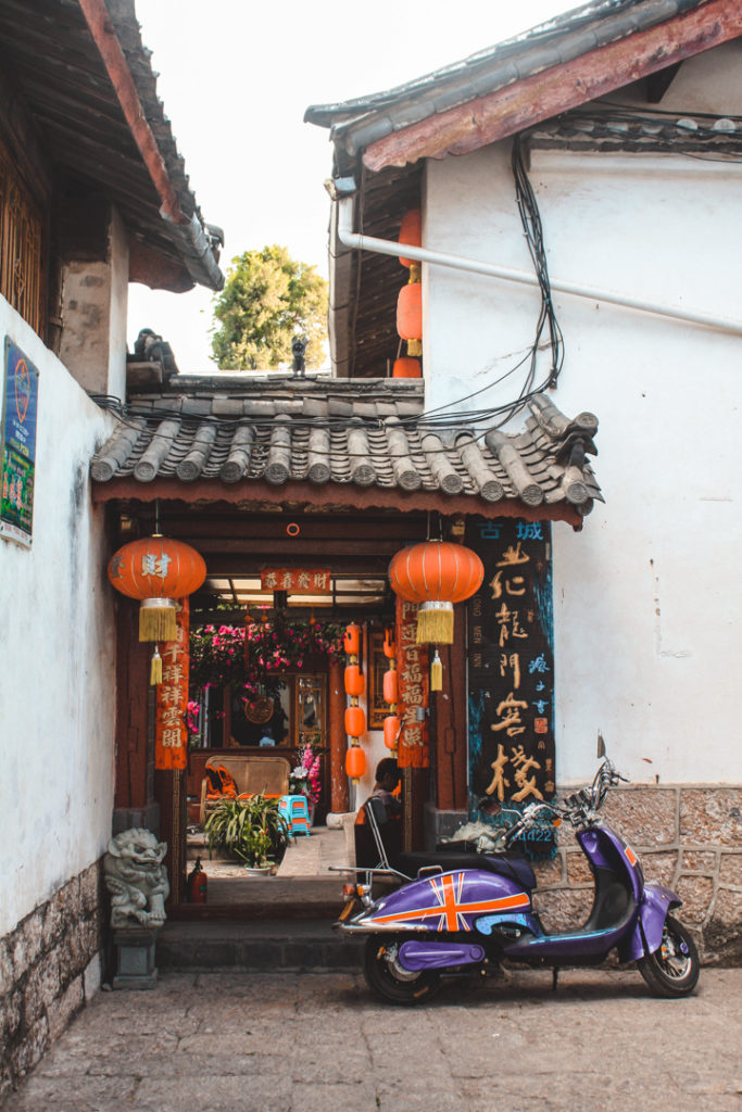 Chinese home in Lijiang China