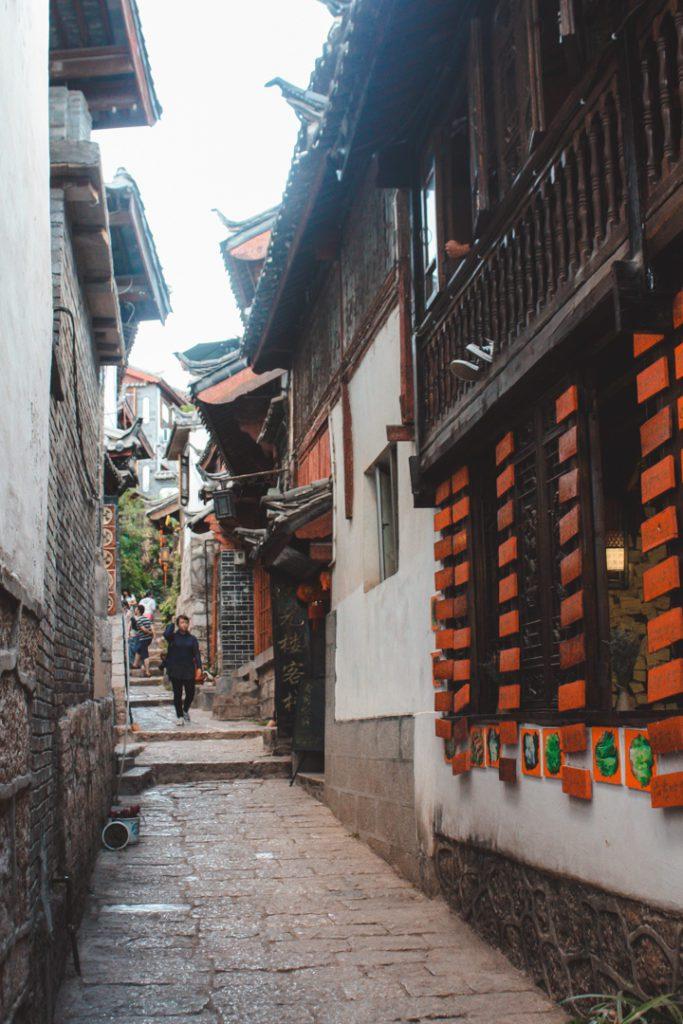 streets of lijiang china