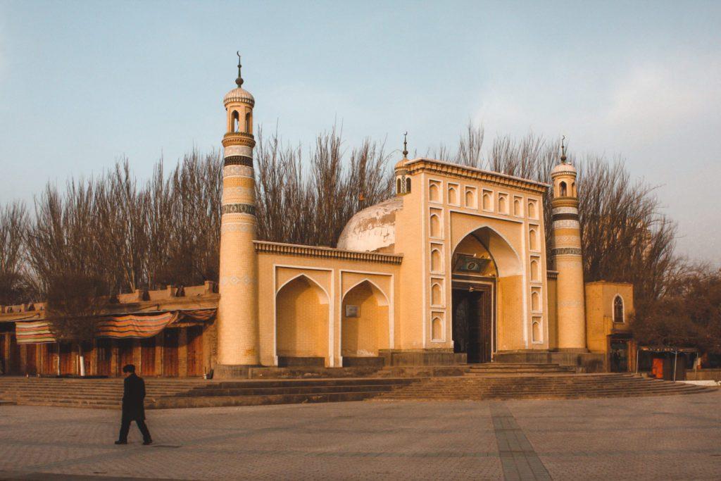 Main mosque in Kashgar China