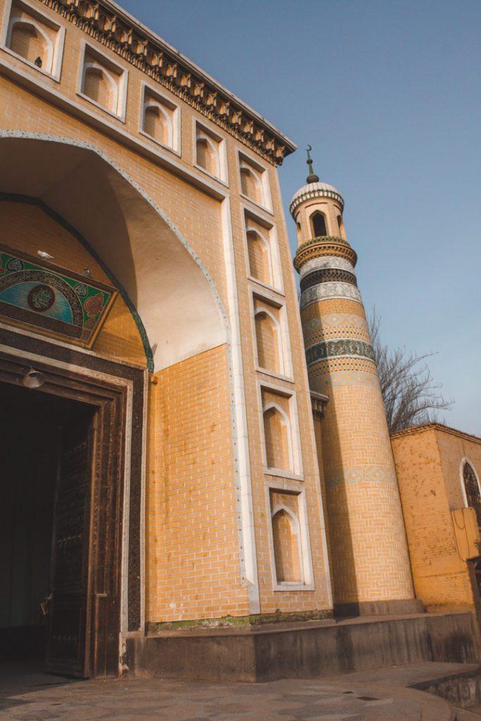 Main mosque Kashgar China