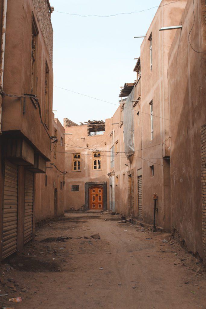 Street in Kashgar China