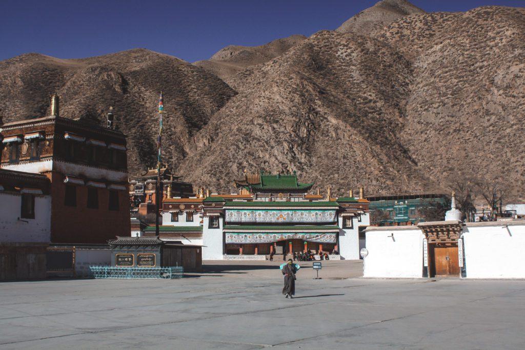 Buddhist Monastery in Xiahe China