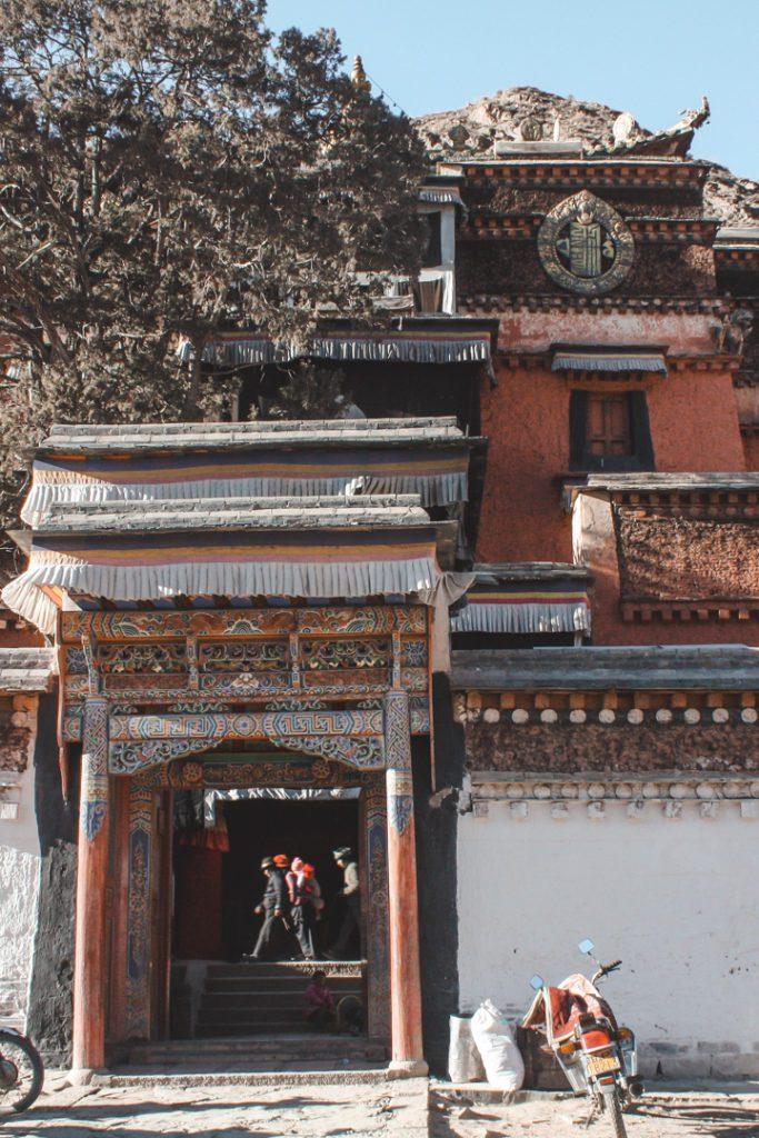 Tibetan Buddhist temple Xiahe China
