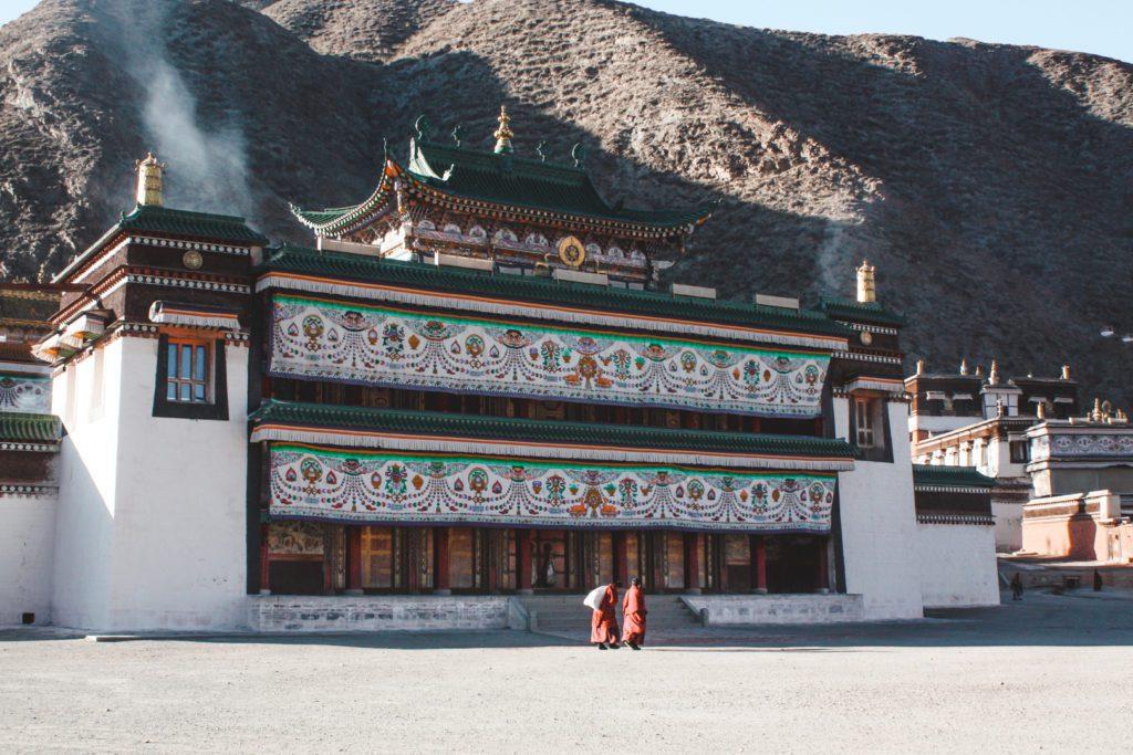 Xiahe Monastery in China