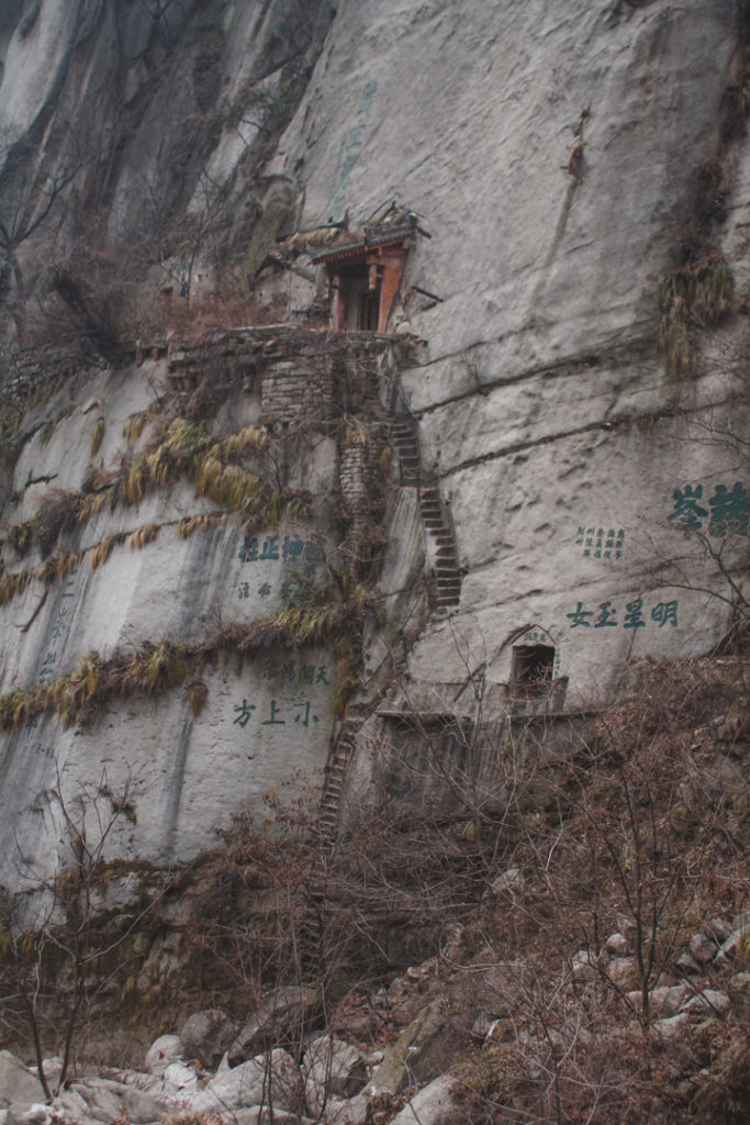 Steep sides on chinese mountain lesser known places to visit in China