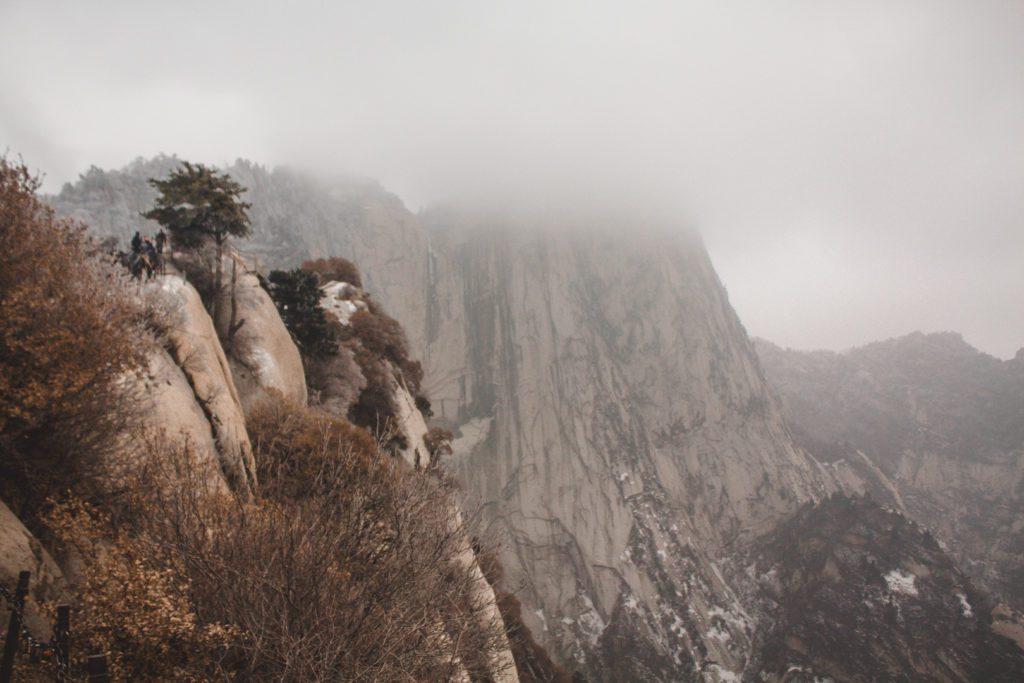 Huashan Mountain in China
