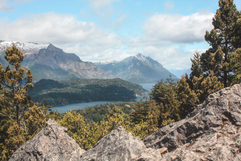 View of Nahuel Huapi Lake Bariloche Argentina