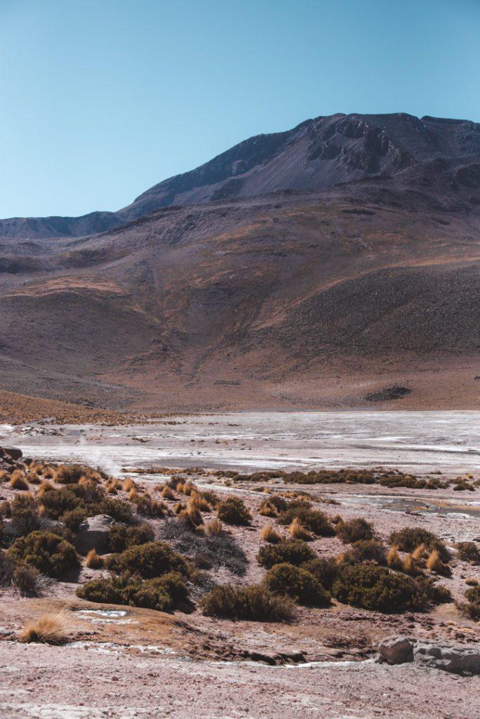 Valley of el tatio geysers